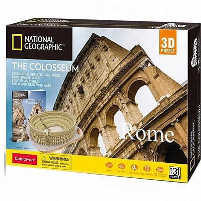 3D The Colosseum Rome (131κ) National Geographic - CubicFun